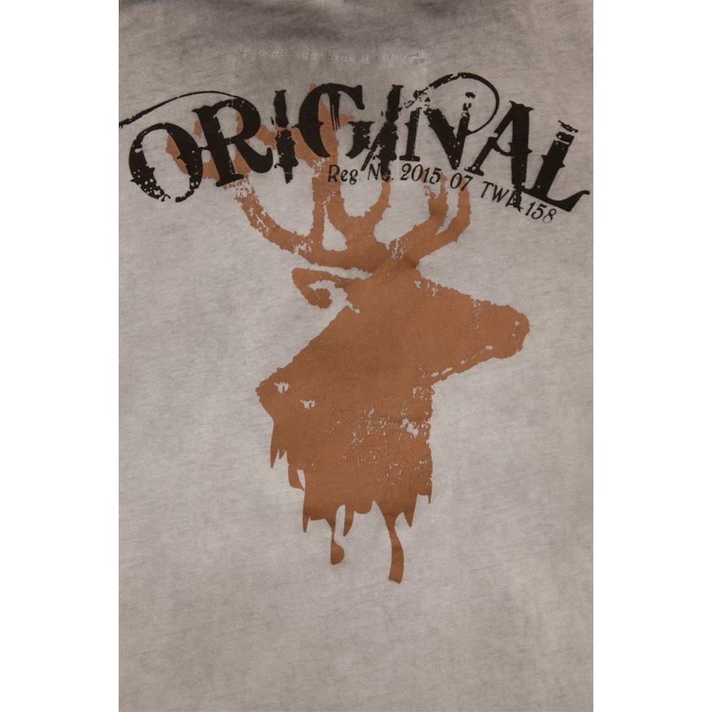 Hangowear Trachtenshirt, mit Printdesigns