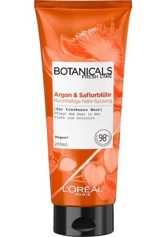 BOTANICALS Haarspülung »Argan und Saflorblüte«, reichhaltig kaufen