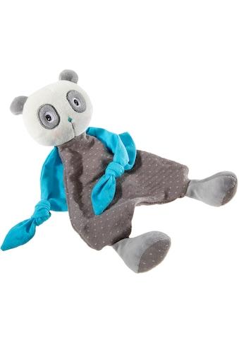Heunec® Schnuffeltuch »FrohNATURen Panda Riverblue«, mit individueller Bestickung;... kaufen