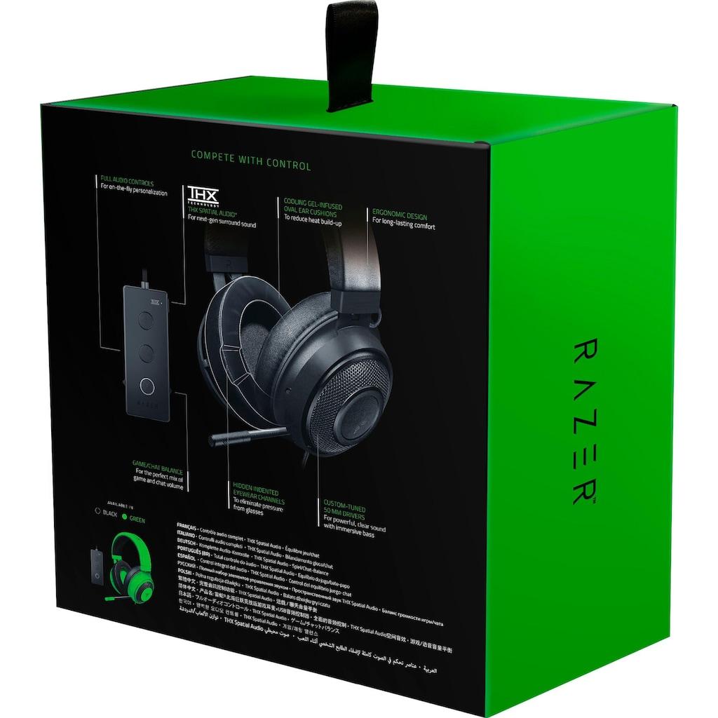 RAZER Gaming-Headset »Kraken Tournament Edition«, Kühlende Gel Ohrpolster