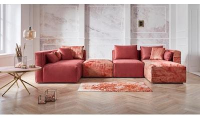 Guido Maria Kretschmer Home&Living Ottomane »Marble«, Modul-Ottomane zur indiviuellen... kaufen