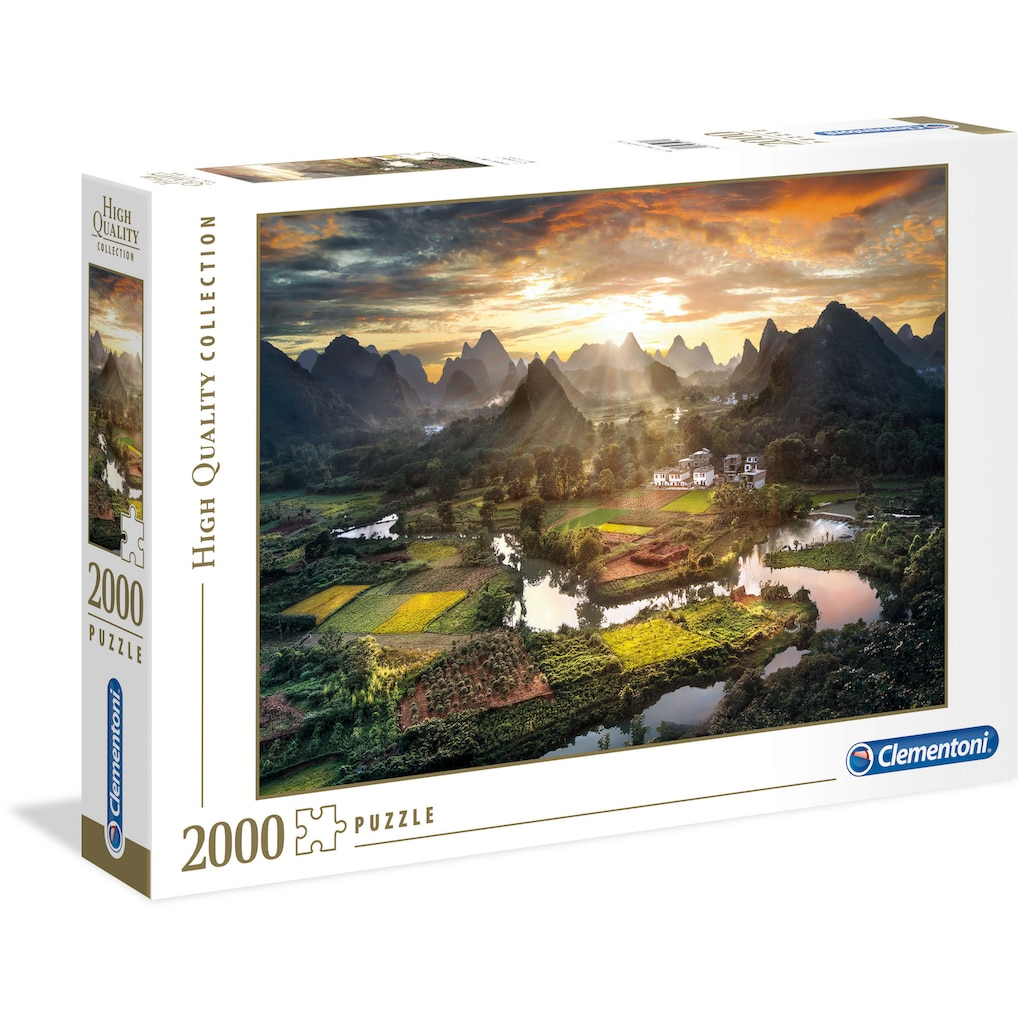 Clementoni® Puzzle »High Quality Collection - Tal in China«, Made in Europe