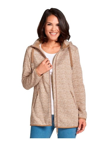 Casual Looks Strick - Fleecejacke mit abnehmbarer Kapuze kaufen