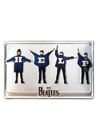 LOGOSHIRT Blechschild mit coolem Beatles - Motiv kaufen