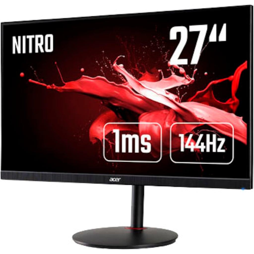 "Acer Gaming-Monitor »Nitro XV272U P«, 68,6 cm/27 "", 2560 x 1440 px, WQHD, 1 ms Reaktionszeit, 144 Hz"