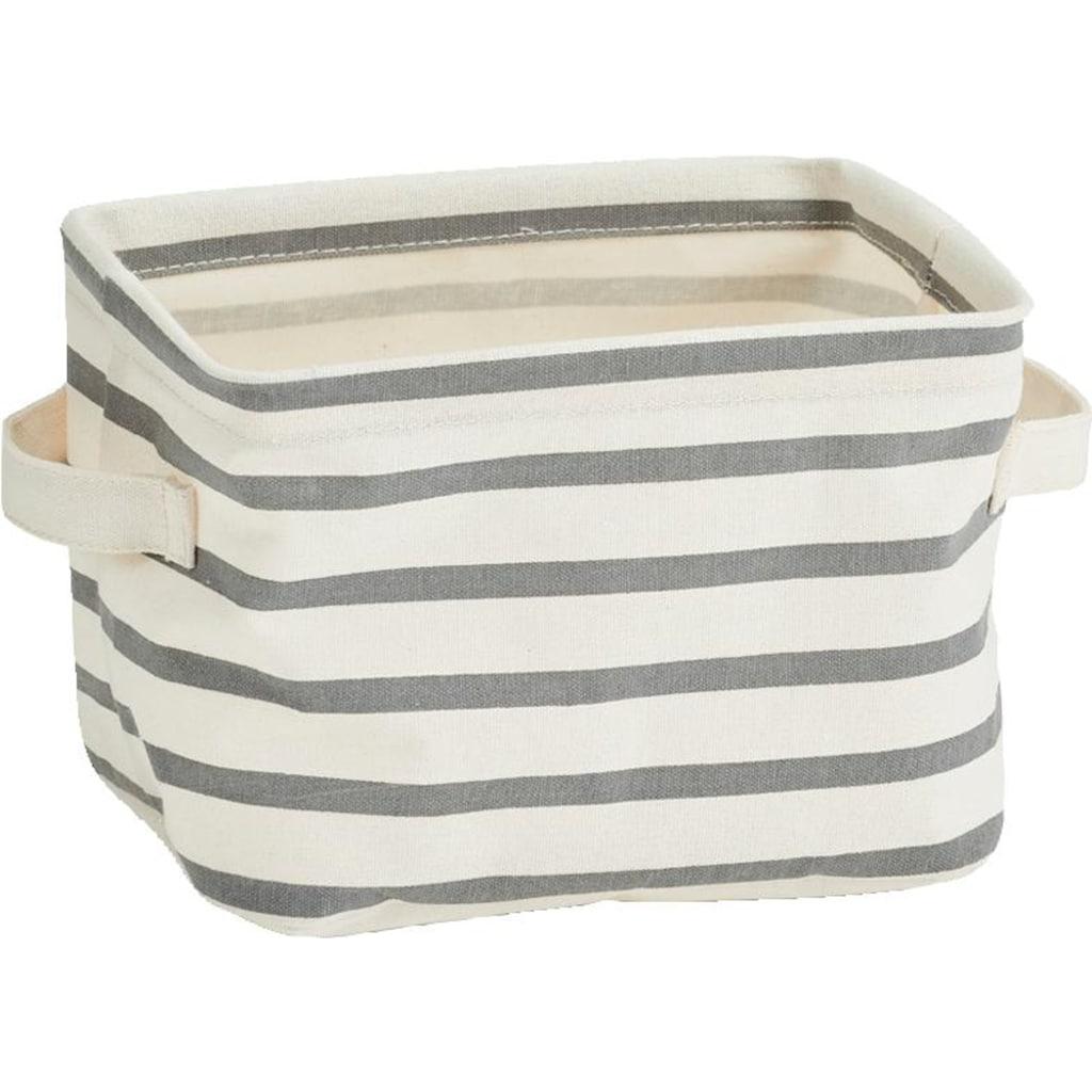 Zeller Present Aufbewahrungsbox, 3tlg., grau