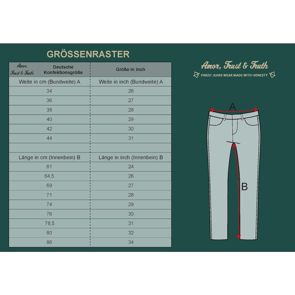 ATT Jeans Slim-fit-Jeans »Lindsay«, mit partiellem Glanzdruck und Reißverschlüssen