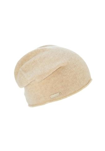 Seeberger Strickmütze »lässige Mütze mit Rollkante in 100% Cashmere 16700 - 0« kaufen