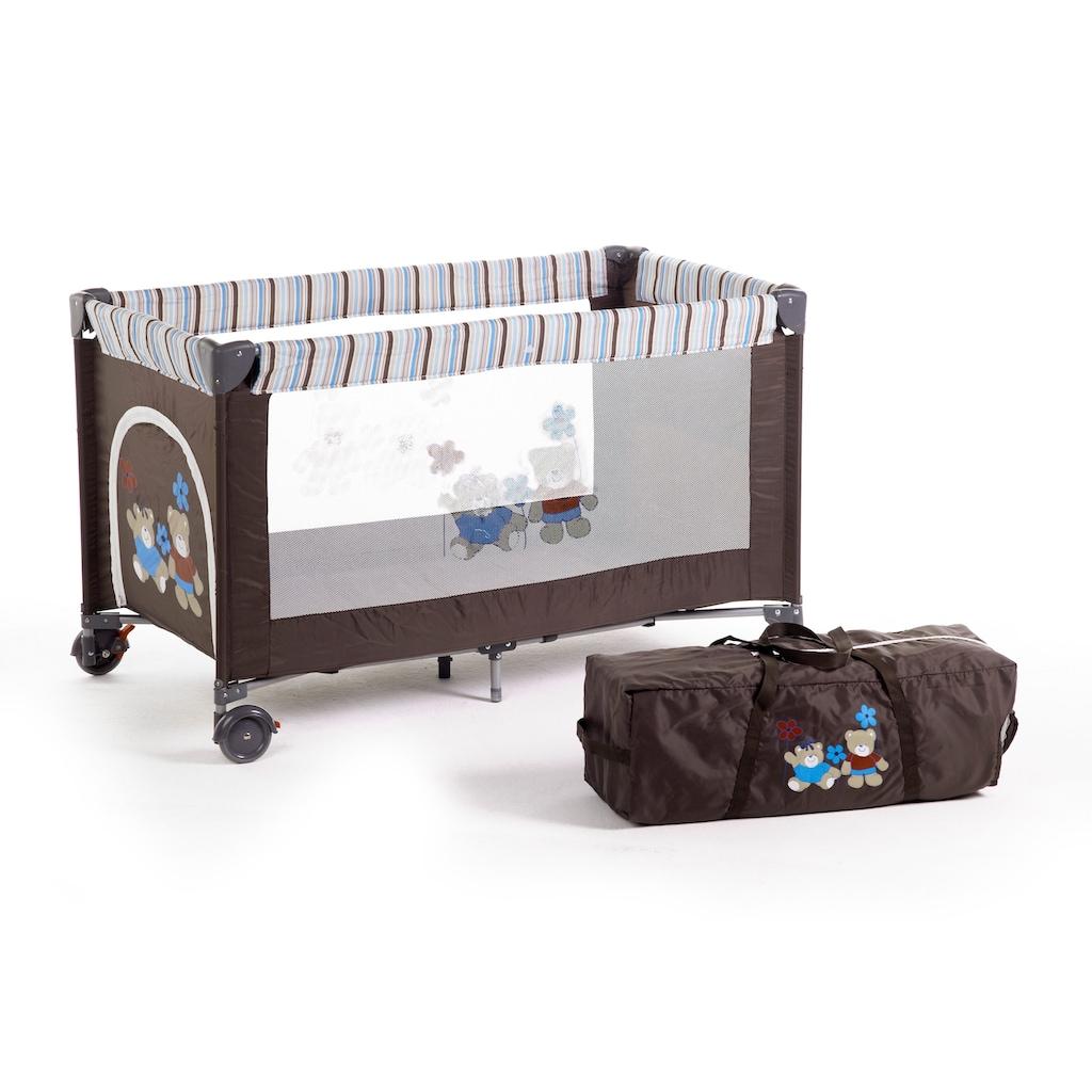 CHIC4BABY Baby-Reisebett »Luxus, terranova«