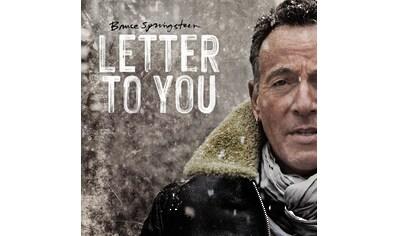 Vinyl »Letter To You (140g black vinyl) / Springsteen,Bruce« kaufen