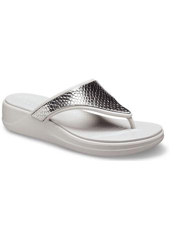 Crocs Zehentrenner »Monterey Metallic« kaufen