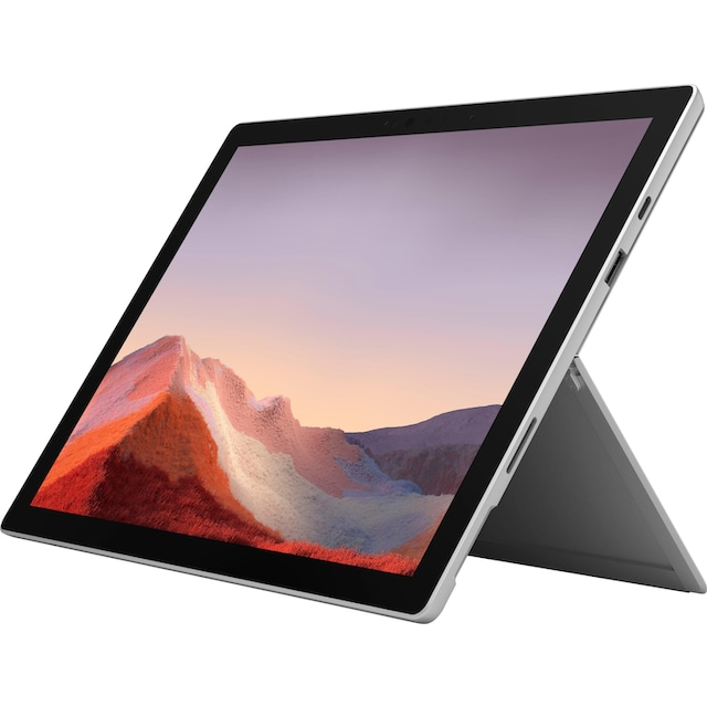 Microsoft Surface Pro 7 - 16GB / 256GB i7 Platin Convertible Notebook (31 cm / 12,3 Zoll, Intel,Core i7, 256 GB SSD)