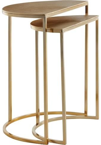 Guido Maria Kretschmer Home&Living Beistelltisch, (Set), aus Aluminium kaufen