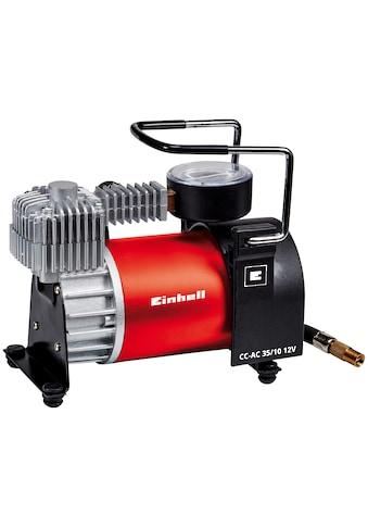 EINHELL Kompressor »CC - AC 35/10 12V«, für den mobilen Einsatz, 35 l/min Fördermenge kaufen