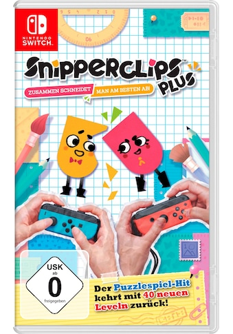 Snipperclips  -  Zusammen schneidet man am besten ab! Nintendo Switch kaufen