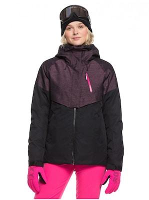Schwarze Snowboardjacke für Damen