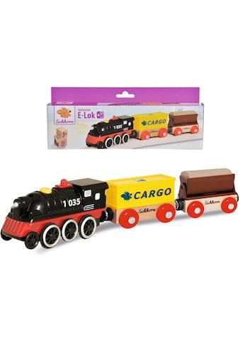 "Eichhorn Spielzeug - Zug ""E - Lok mit Wagon"" kaufen"