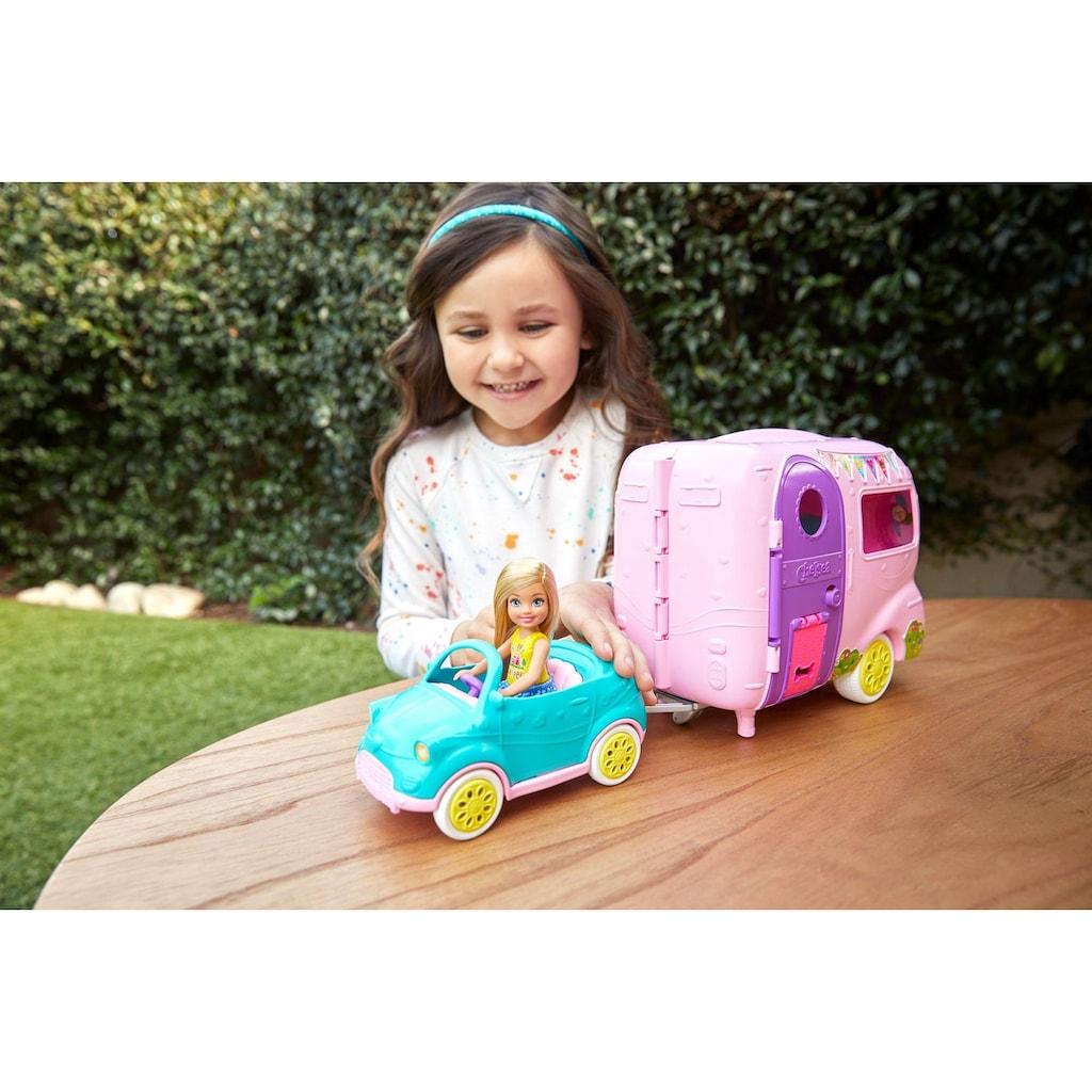 Barbie Puppen Fahrzeug »Chelsea Camper Spielset mit Puppe«