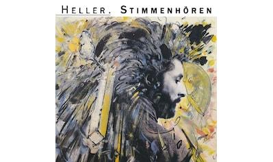 Musik-CD »Stimmenhören / Heller,Andre« kaufen