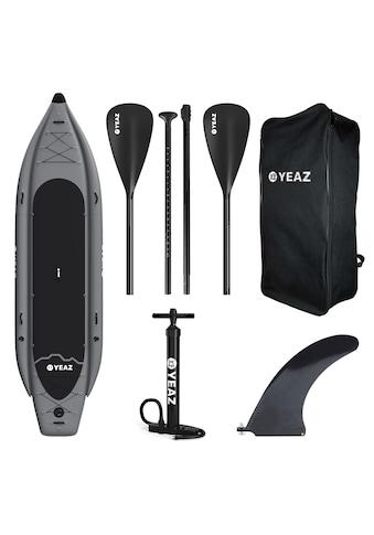 YEAZ Inflatable SUP-Board »KAINUI«, (5 tlg.), inkl. Alu-Paddel, Handpumpe, Repair-Kit... kaufen