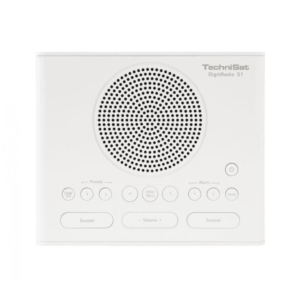 TechniSat Radiowecker »DIGITRADIO 51«, für DAB+/DAB/UKW-Empfang