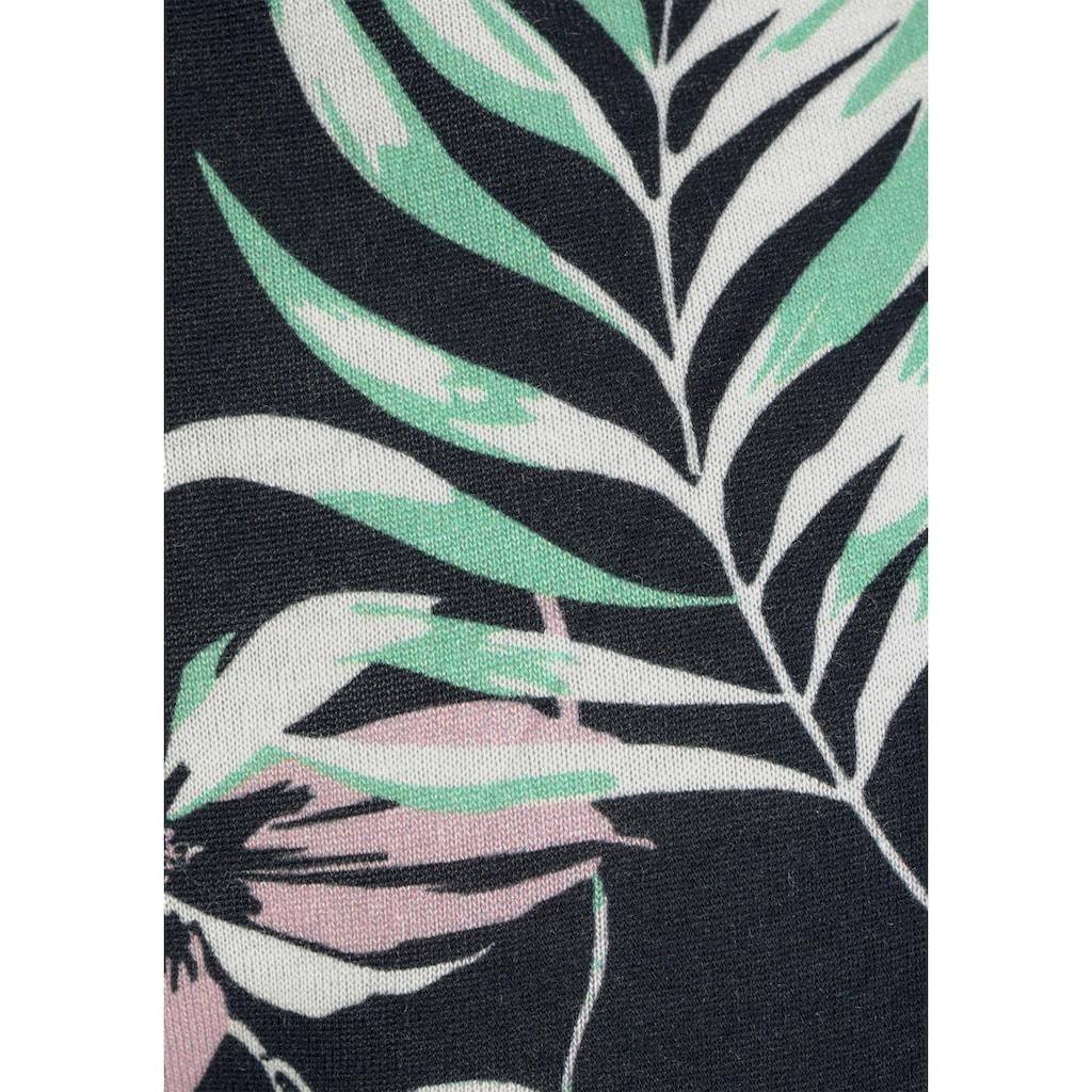LASCANA Strandhose, mit tropischem Druck
