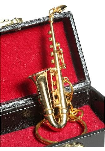 Ambiente Haus Dekofigur »Schlüsselanhänger Saxophon 7cm« kaufen