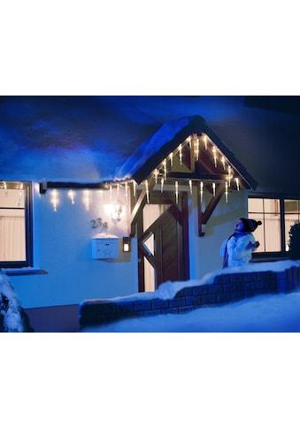 KONSTSMIDE LED-Lichtervorhang, 24 St.-flammig, LED Eiszapfen Lichtervorhang, 16... kaufen