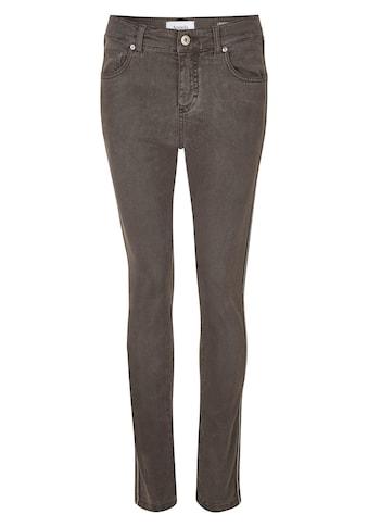 ANGELS Skinny-fit-Jeans, mit Glitzergalon kaufen