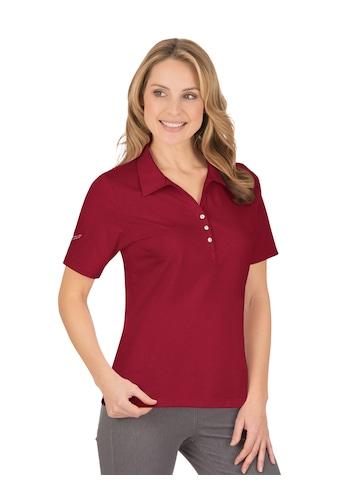 Trigema Poloshirt, aus Baumwolle mit Swarovski® Kristallen kaufen