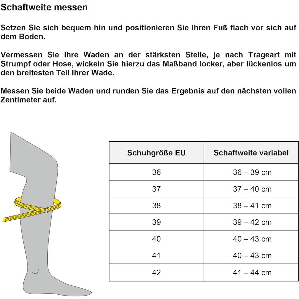 Tamaris Stiefel, mit Vario-Schaft und TOUCH-It Ausstattung