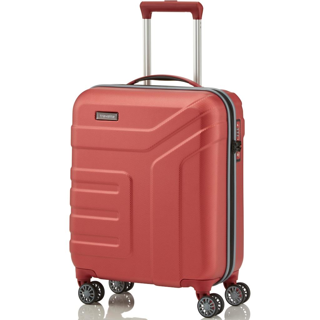 travelite Hartschalen-Trolley »Vector«, 4 Rollen, mit 4 Rollen