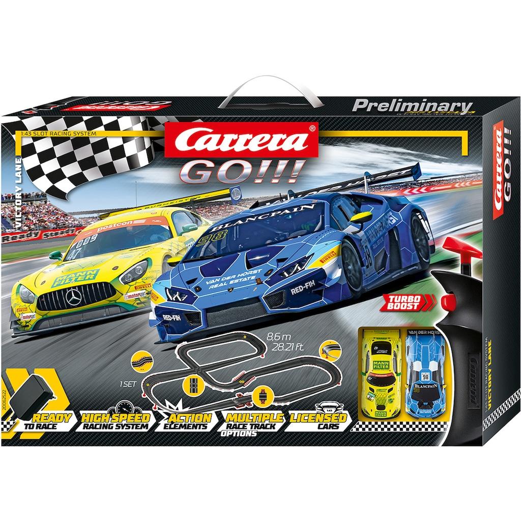 Carrera® Autorennbahn »Carrera® GO!!! - Victory Lane«, (Set)