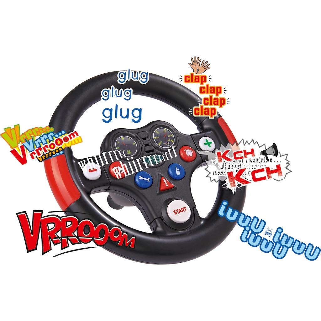 BIG Spielfahrzeug-Lenkrad »BIG Bobby Car Racing-Sound-Wheel«