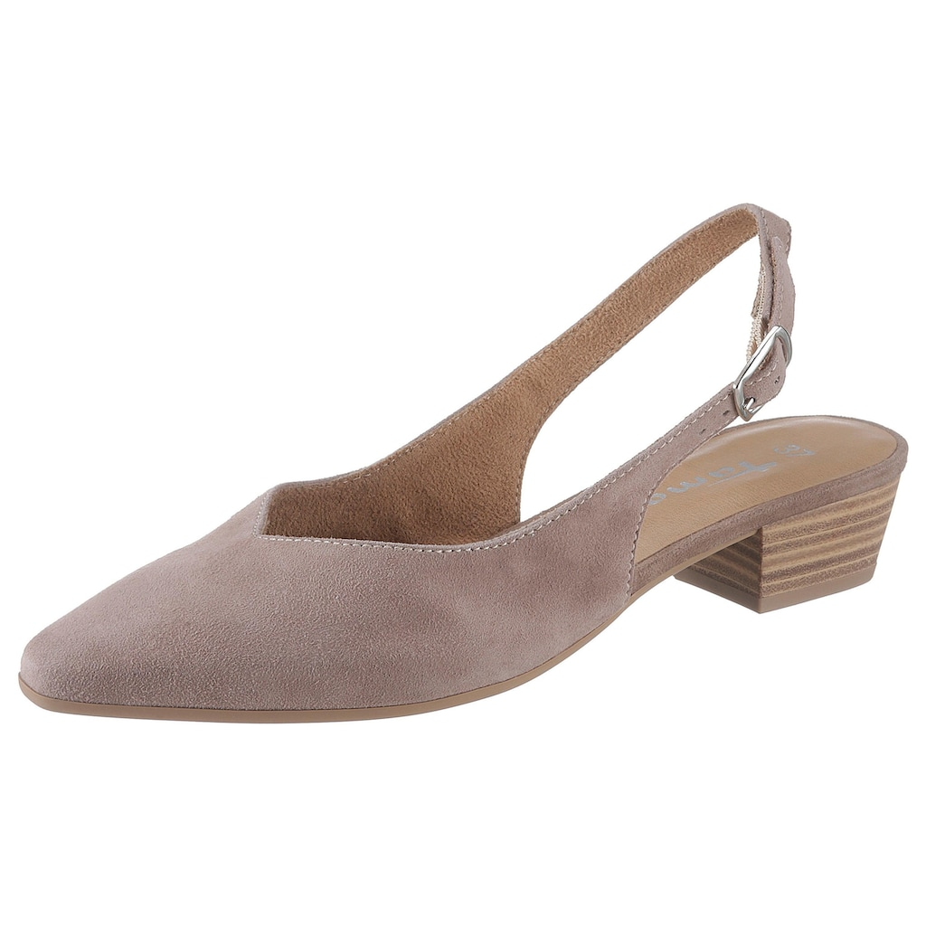 Tamaris Slingpumps »Kosy«, in klassischer Form
