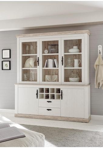 Home affaire Buffet »Florenz«, im romantischen Landhaus-Look, Höhe 205 cm kaufen