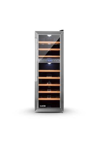Klarstein Weinkühlschrank Weinklimaschrank Getränkekühlschrank 2 Zonen 76L »HEA8 Reserva 27« kaufen
