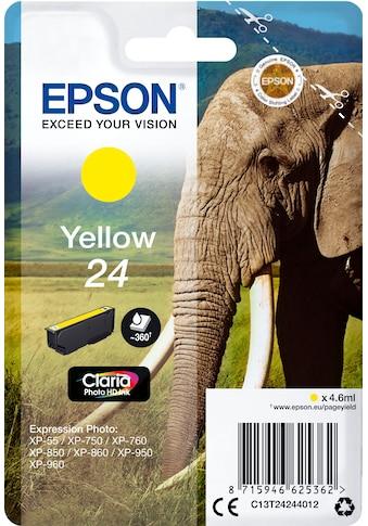 Epson Tintenpatrone »Tinte Singlepack Gelb 24« kaufen