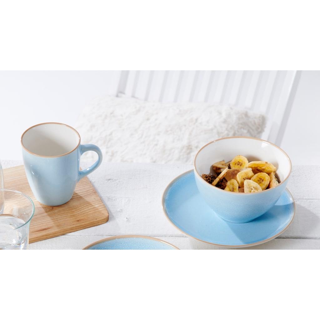 Ritzenhoff & Breker Frühstücks-Geschirrset »Nancy«, (Set, 3 tlg.), Unikatcharakter