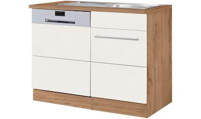 HELD MÖBEL Spülenschrank »Wien«, Breite 110 cm, inkl. Möbelfront für... kaufen