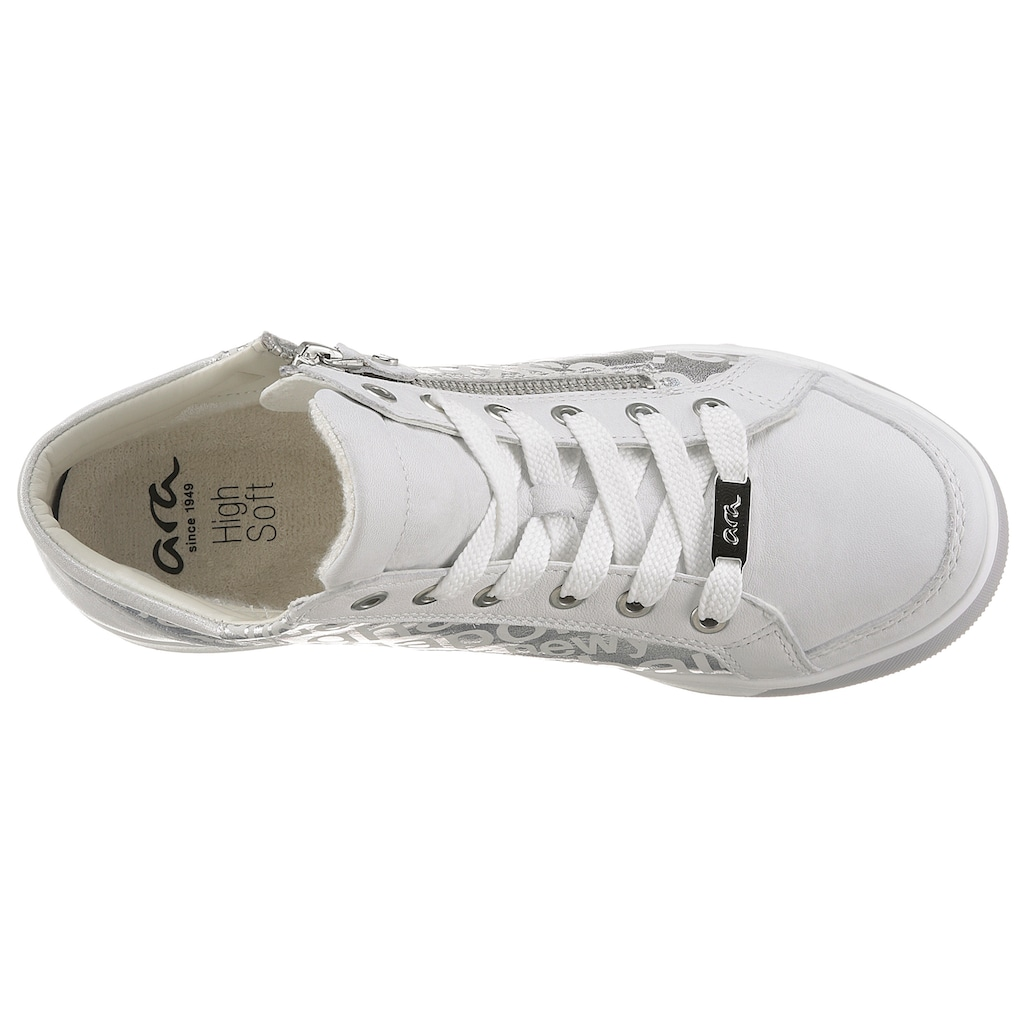 Ara Sneaker »ROM«, mit Schriftzüge