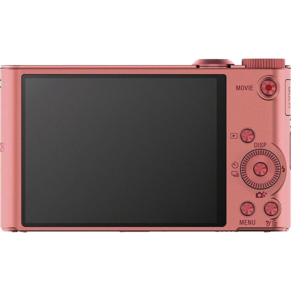 Sony Superzoom-Kamera »Cyber-Shot DSC-WX350«, 25mm Sony G, 18,2 MP, 20x opt. Zoom, WLAN (Wi-Fi), 20 fach optischer Zoom