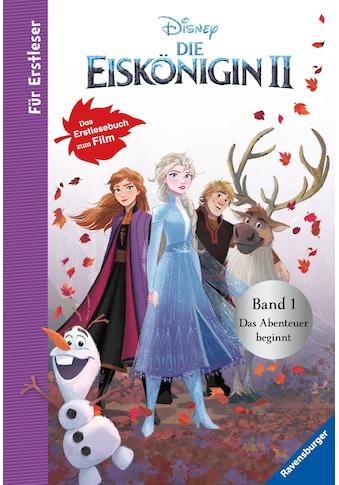 Buch »Disney Die Eiskönigin 2 - Für Erstleser: Band 1 Das Abenteuer beginnt / Annette... kaufen