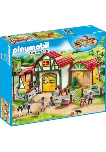 "Playmobil® Konstruktions - Spielset ""Großer Reiterhof (6926), Country"", Kunststoff kaufen"