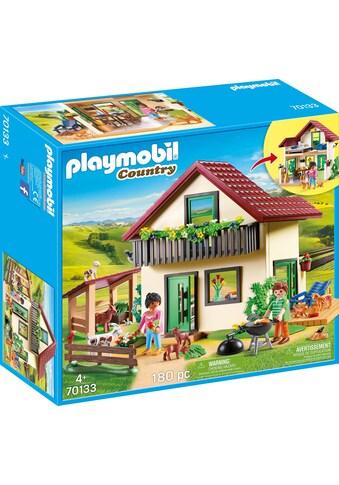 """Playmobil® Konstruktions - Spielset """"Bauernhaus (70133), »Country«"""", Kunststoff kaufen"""