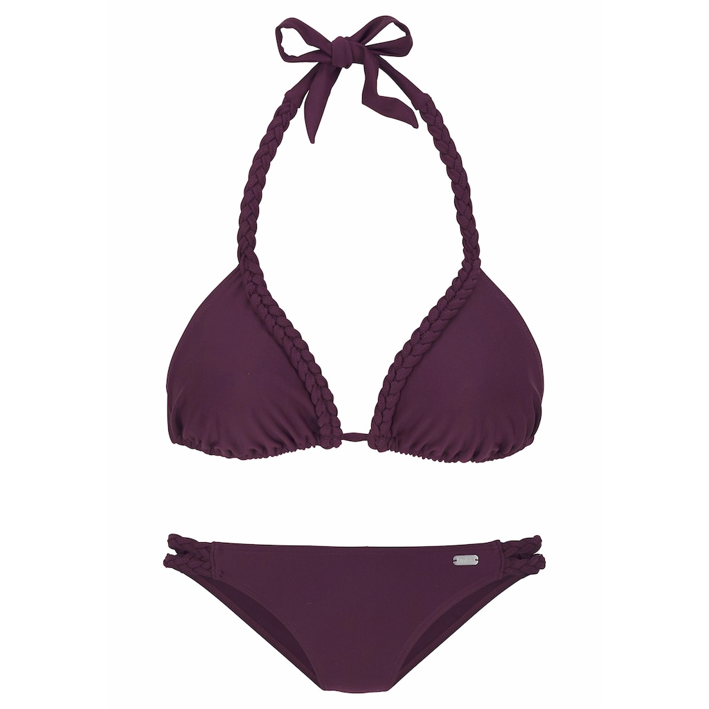 Buffalo Triangel-Bikini, mit geflochtenen Details