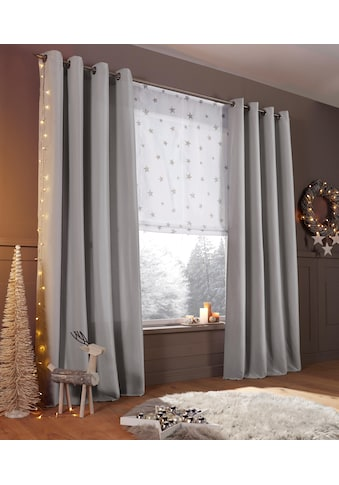 Vorhang, »Raja«, my home, Ösen 2 Stück kaufen