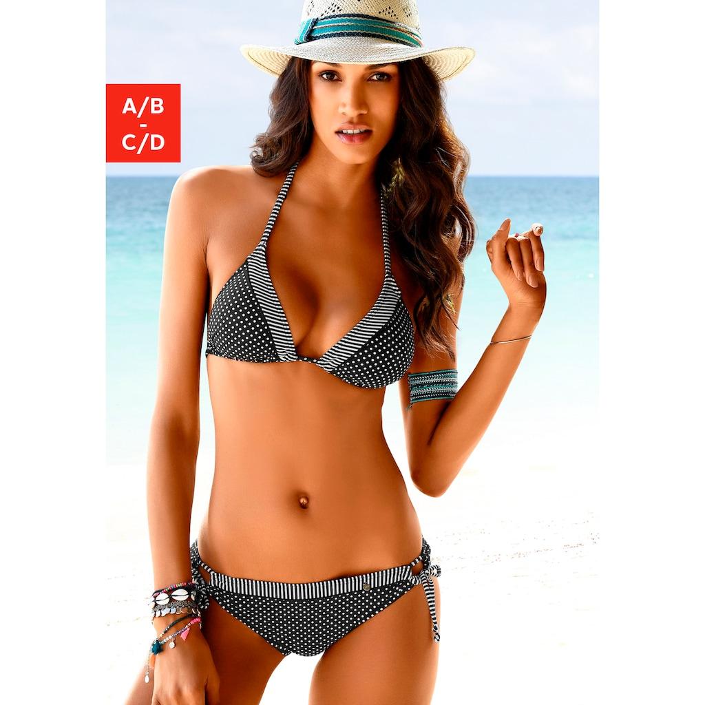 s.Oliver Triangel-Bikini-Top »Avni«, mit Mustermix