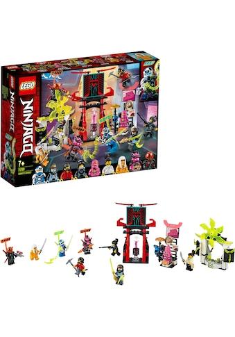 LEGO® Konstruktionsspielsteine »Marktplatz (71708), LEGO® NINJAGO®«, (218 St.), Made... kaufen