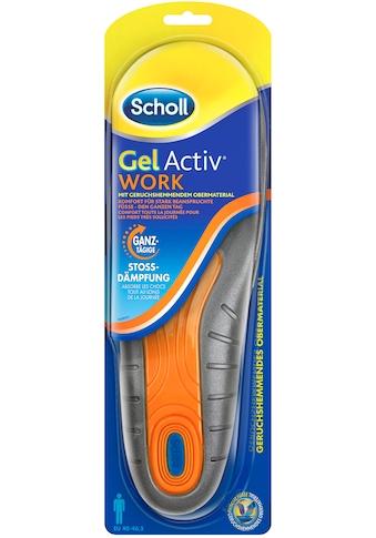 Scholl Gelsohlen »GelActiv Work«, für Männer, passend für Schuhgrößen 40 bis 46,5 kaufen
